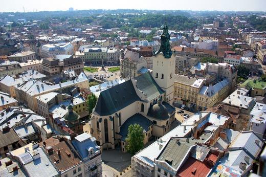 City tour of Lviv